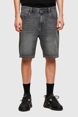 regular fit jeans short D-STRUKT zwart