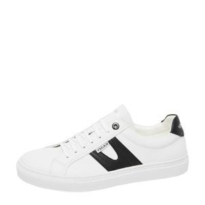 Novara  vegan sneakers wit/zwart