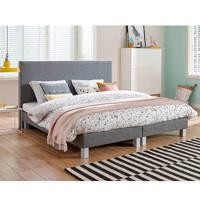 Beter Bed complete boxspring Leeds (140x200 cm), Antraciet