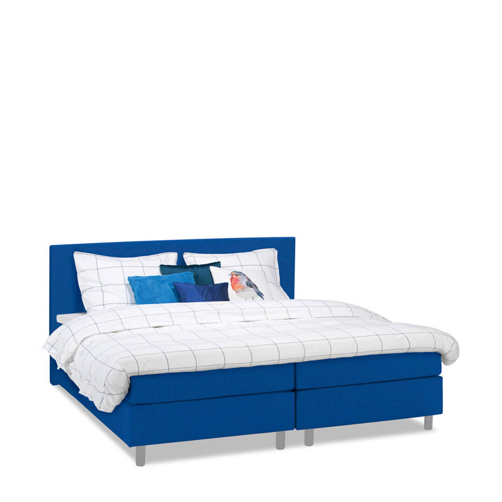 Beter Bed complete boxspring Watford (120x200 cm), Blauw