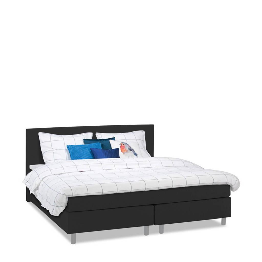 Beter Bed complete boxspring Watford (120x200 cm), Zwart