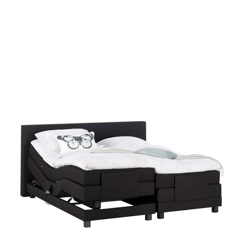 Beter Bed complete elektrische boxspring Brighton (140x210 cm), Zwart