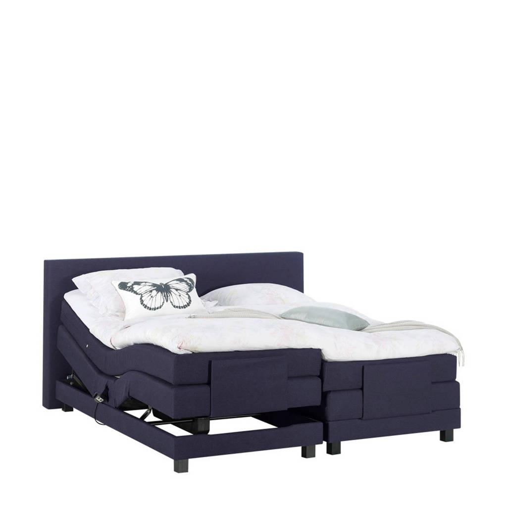 Beter Bed complete elektrische boxspring Brighton (140x210 cm), Navy