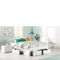 Beter Bed bed Dublin (140x200 cm), Wit