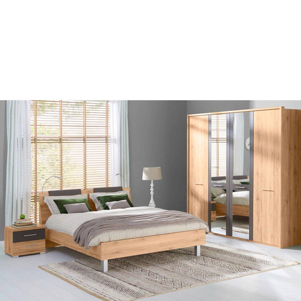 Beter Bed bed Glasgow (160x220 cm), Eiken