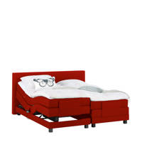 Beter Bed complete elektrische boxspring Brighton (160x200 cm), Rood