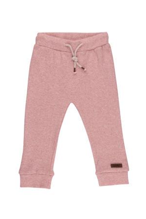 baby regular fit broek roze