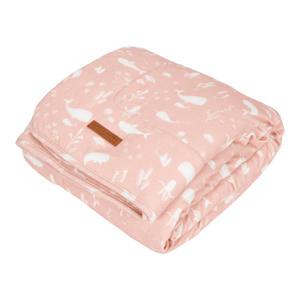 baby ledikantdeken 110x140 cm Pure & soft Ocean Pink