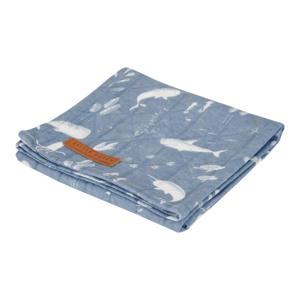 hydrofiele luier 120x120 cm Ocean Blue