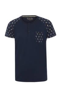 Charlie Choe pyjamatop donkerblauw, Donkerblauw