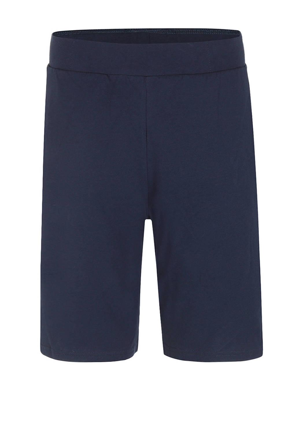 Charlie Choe pyjamashort donkerblauw, Donkerblauw