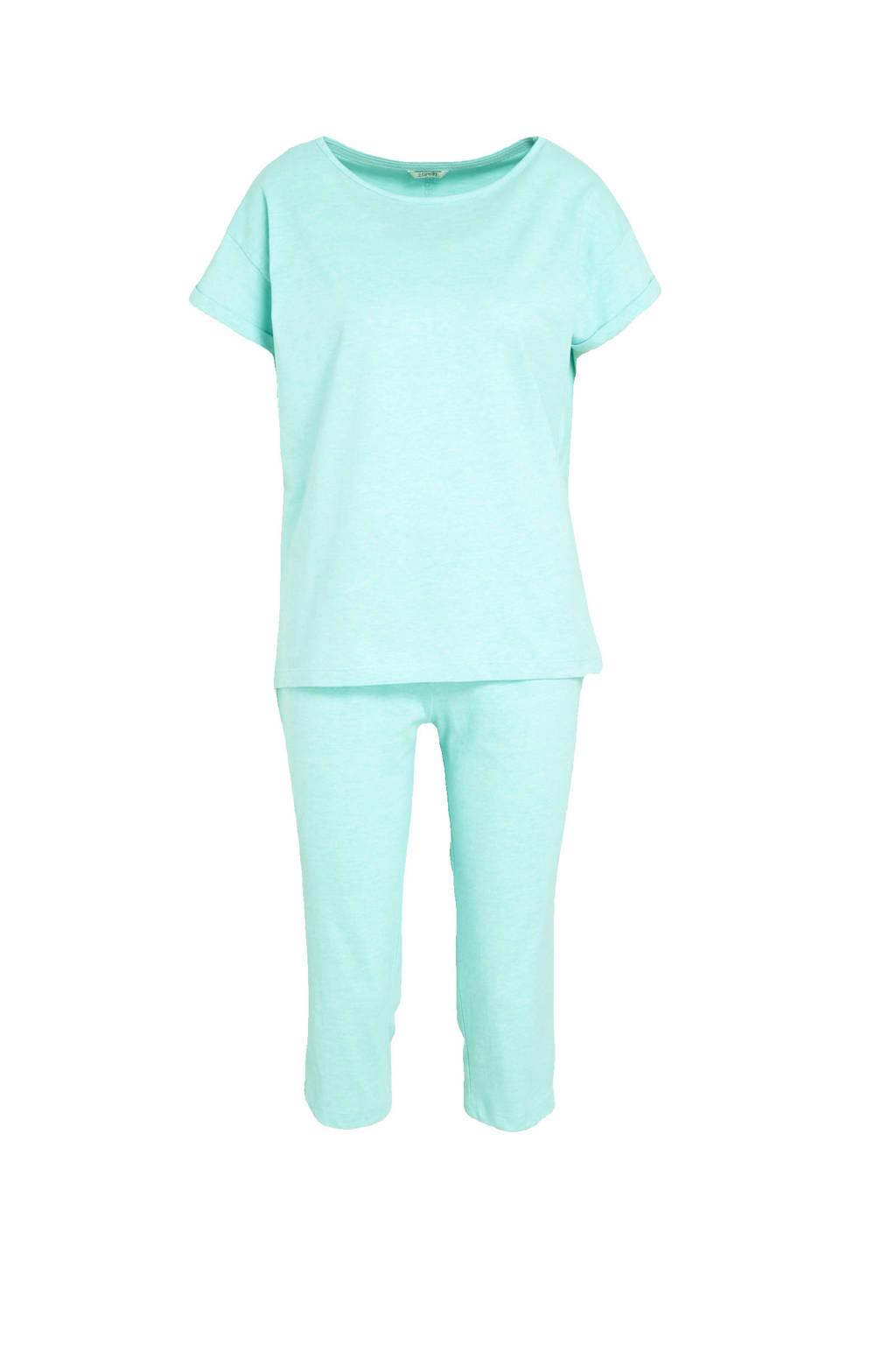 ESPRIT Women Bodywear pyjama lichtgroen, Lichtgroen