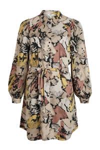 OBJECT jurk OBJSTINE met all over print grijs, Grijs