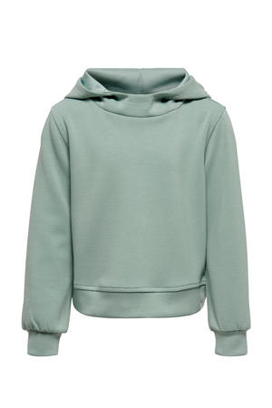 cropped sportsweater Dess mintgroen