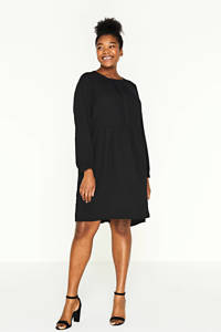 ONLY CARMAKOMA jurk CARPLANO zwart, Zwart