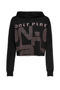 ONLY PLAY sportsweater Janay zwart/taupe, Zwart/taupe