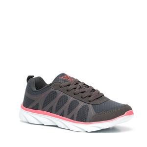 hardloopschoenen grijs/roze