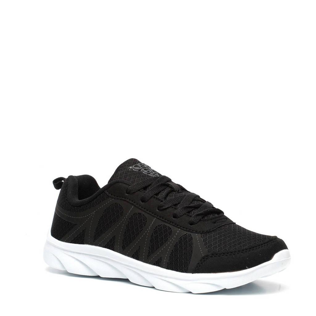 Scapino Osaga   hardloopschoenen zwart/wit, Zwart/wit