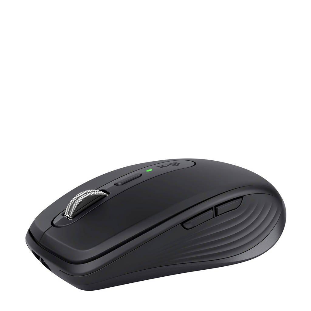 Logitech MX Anywhere 3 Compact Performance muis (zwart), Grijs