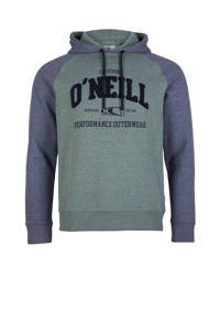 O'Neill hoodie groen/blauw, Groen/blauw