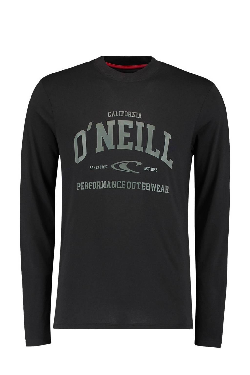 O'Neill longsleeve zwart, Zwart