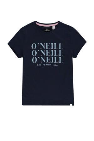 T-shirt donkerblauw