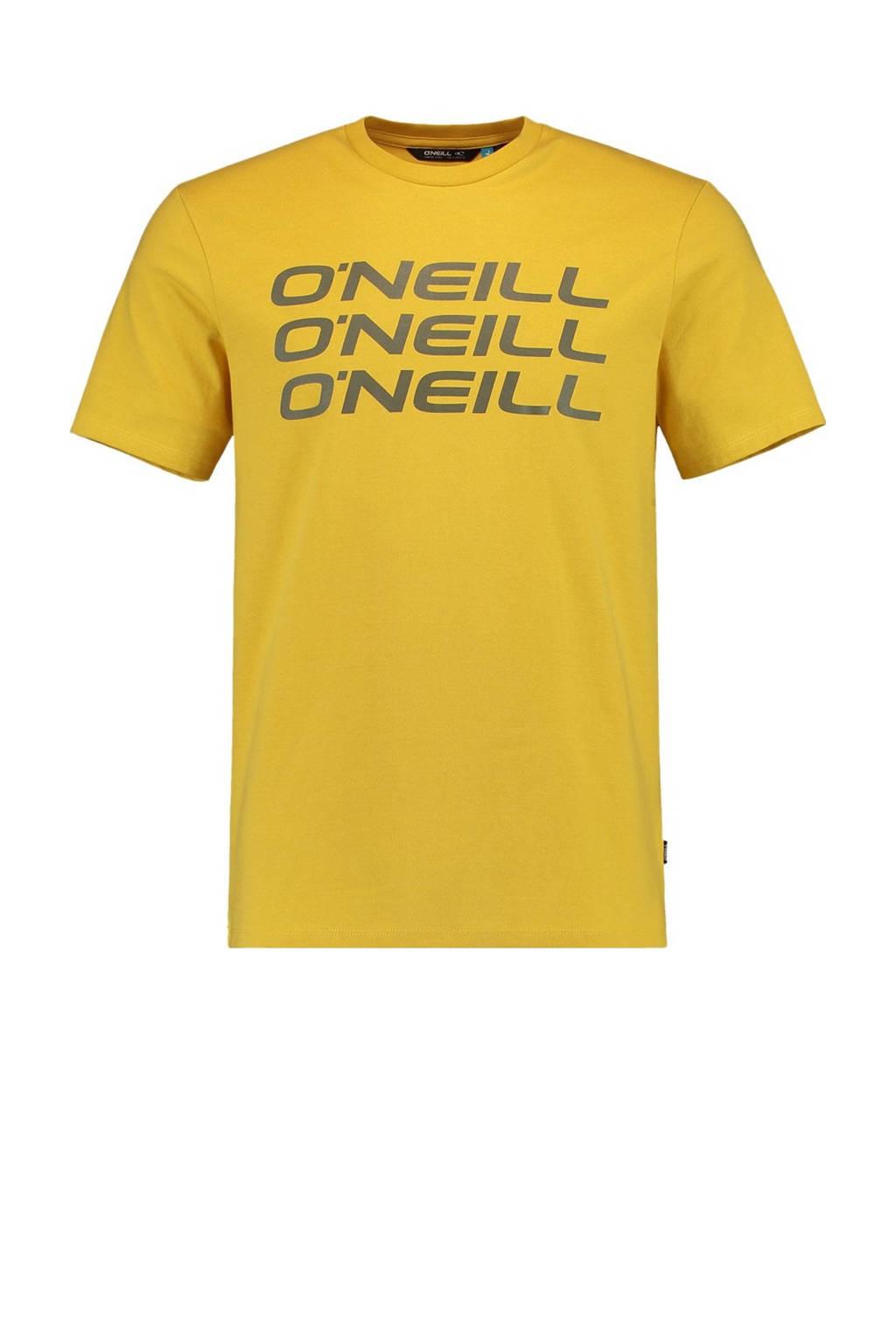O'Neill T-shirt geel, Geel