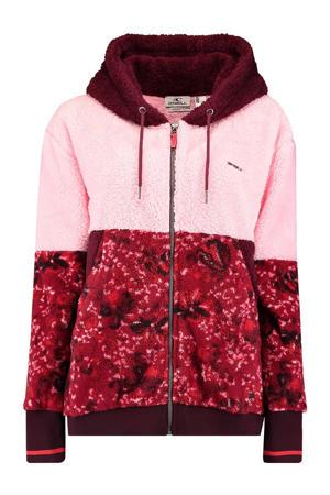 fleece vest roze