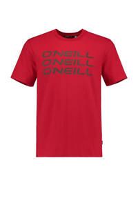 O'Neill T-shirt rood, Rood