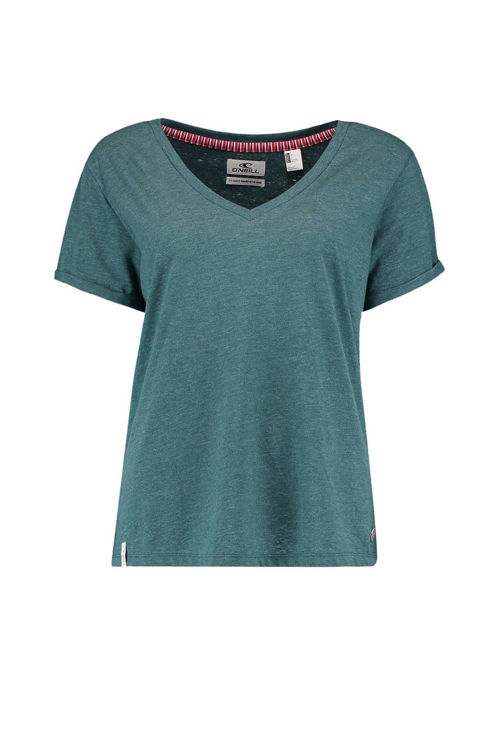 O'Neill T-shirt Rock blauw, Balsam