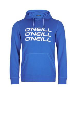 hoodie Triple Stack blauw