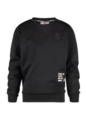 sweater Namos met logo zwart
