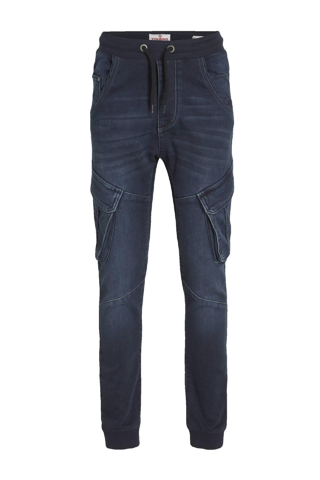 Vingino loose fit jeans Carlos cruziale blue, Cruziale blue