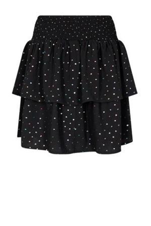 rok Elisse met stippen zwart
