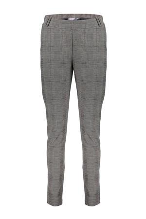 geruite broek grijs/zwart/wit