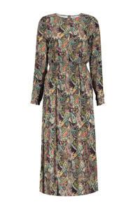 Geisha jurk met all over print multi, Multi
