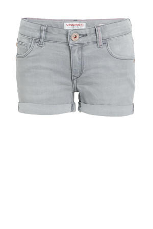 slim fit jeans short Dolomiti light grey