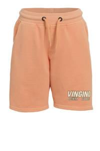 Vingino regular fit sweatshort Relis neon oranje, Neon oranje