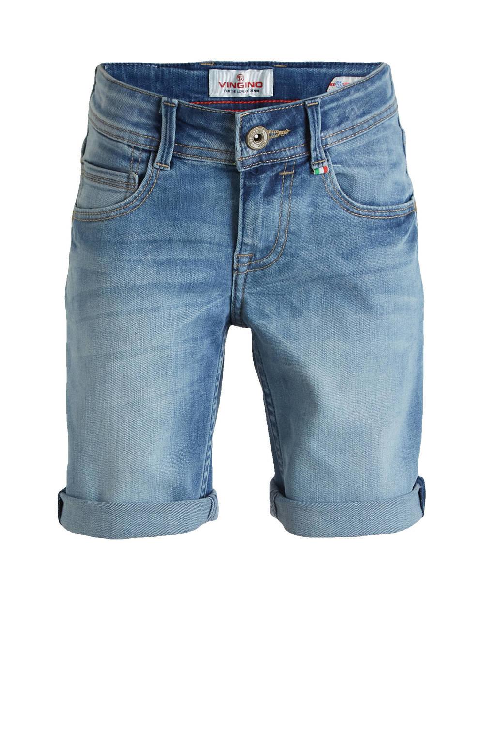 Vingino jeans bermuda Claas light vintage, Light vintage