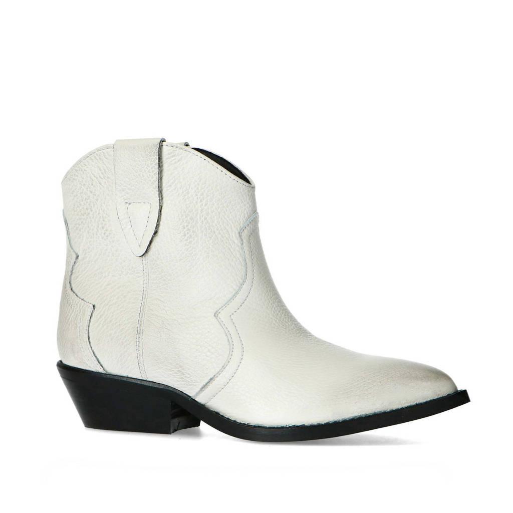 Sacha   leren cowboylaarzen wit, Off White