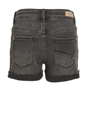 high waist slim fit jeans short Diona black