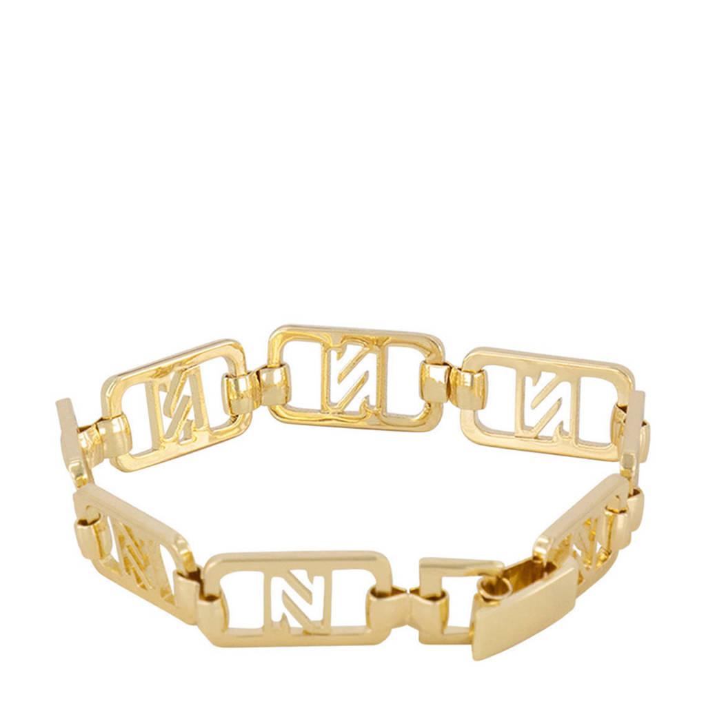NIKKIE armband Maja goudkleurig, Goudkleurig