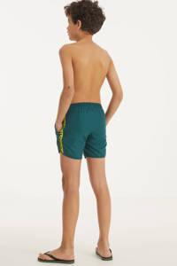 Retour Denim zwemshort Tyson groen/geel/zwart, Groen/geel/zwart