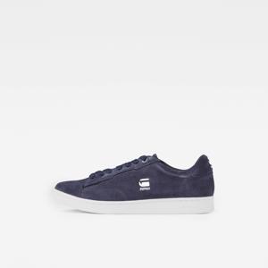 Cadet II  suède sneakers donkerblauw