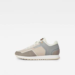 Calow III  suède sneakers grijs/beige