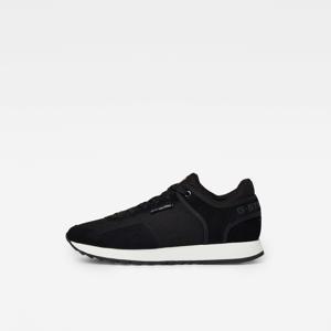 Calow  suède sneakers zwart