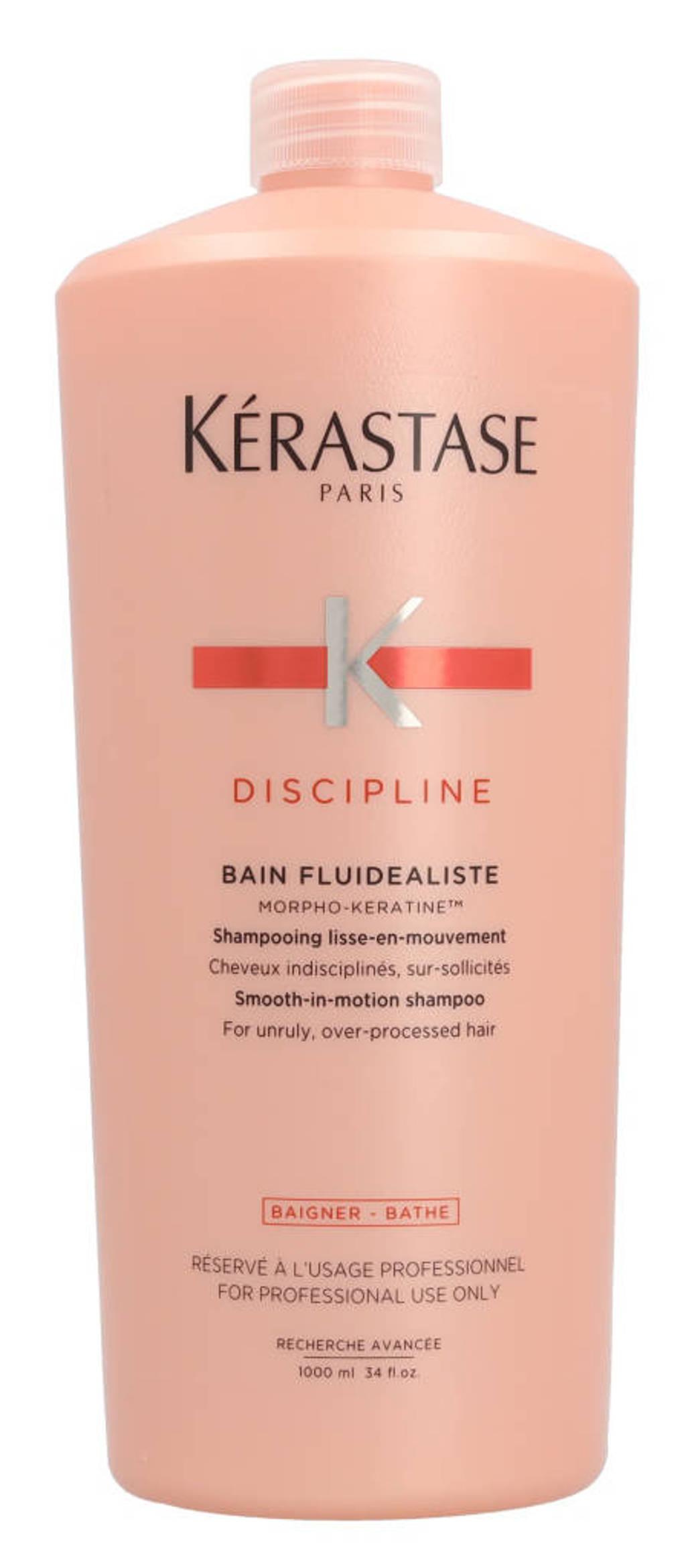 Kerastase Discipline Bain Fluidealiste Gentle Smooth-In-Motion shampoo - 1000 ml