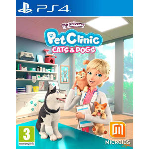 My universe - Pet clinic cats & dogs (PlayStation 4)