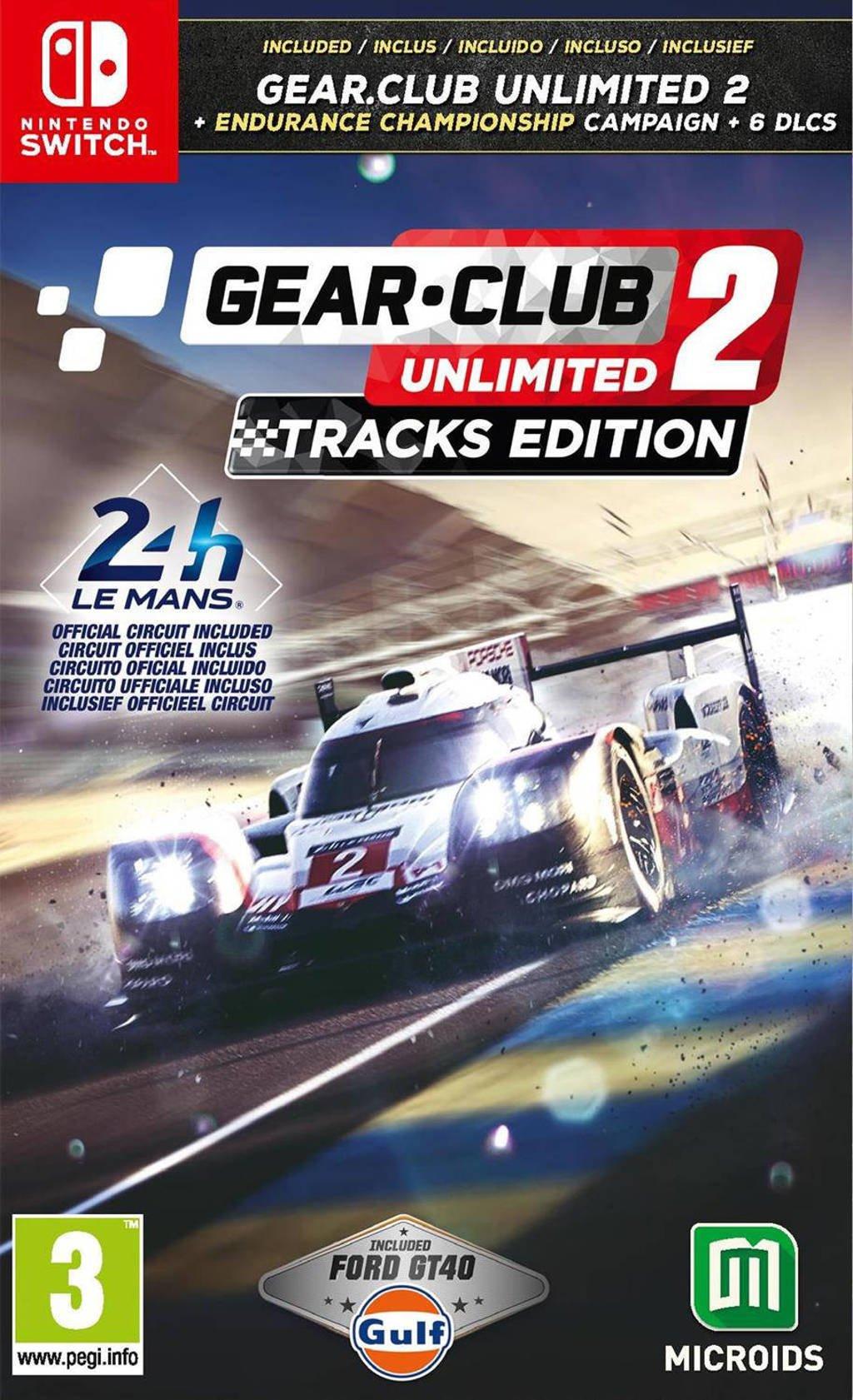 Gear.Club Unlimited 2 - (Tracks Edition/Le Mans 24h)  (Nintendo Switch)