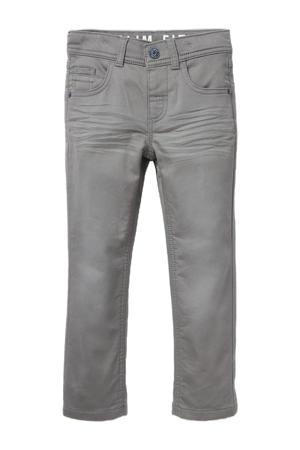 slim fit jeans grijs stonewashed